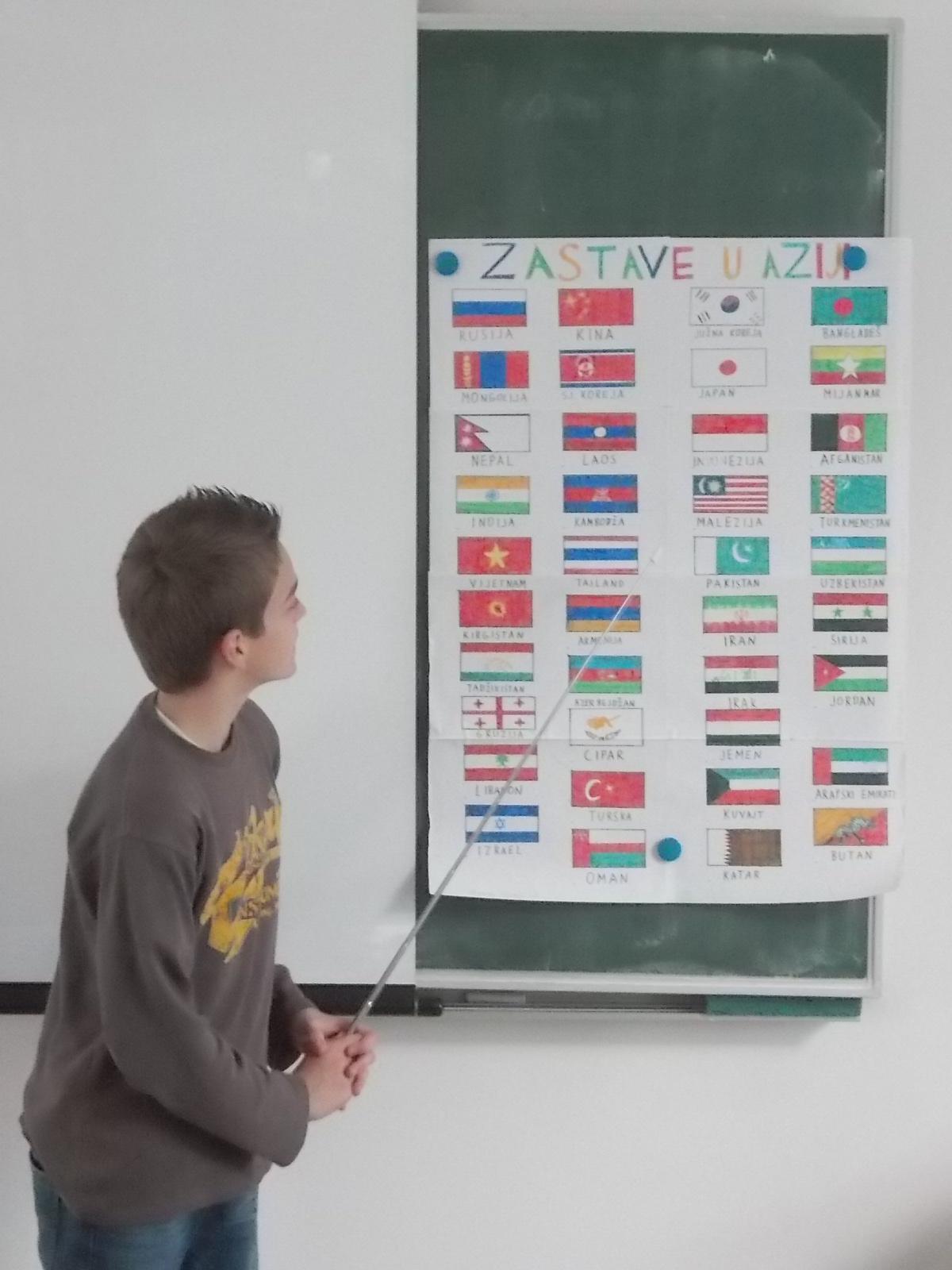 individualni rad - referat o zastavama Azije 012